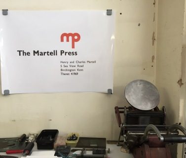 Martell Press closing down event 2016