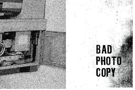 36 / 1960 / Bad Photo Copy / Dave Edwards / Paper, photocopy